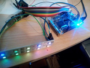 FSM-fpga ws2812b - less bright